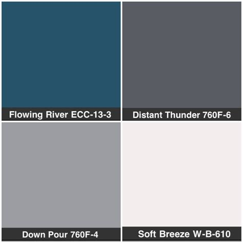 dark blue gray paint behr color pallete blue living room kitchen dining white