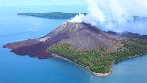 wallpaper anak gunung krakatau tour day trip