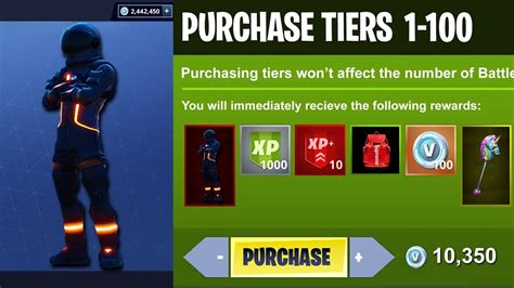 fortnite tier 100 challenges season 3 unlocking all 100 tiers battle pass update in