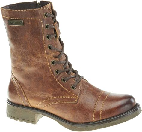 womens brown biker boots harley davidson women s arcola 7 in motorcycle boots ash