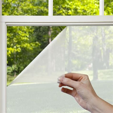 tende adesive pellicole adesive per vetri finestre installare