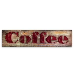 vintage wood signs home decor coffee vintage home decor wood sign