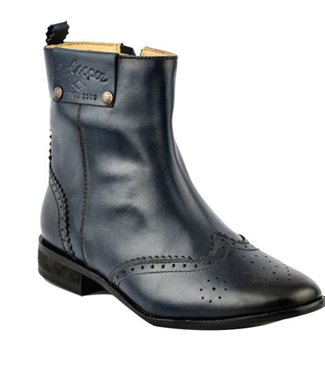 cooper trendy navy boots price in india buy