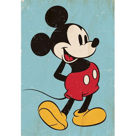 Wallpaper Mickey Classic | vintage mickey mouse wallpaper great kidsbedrooms the