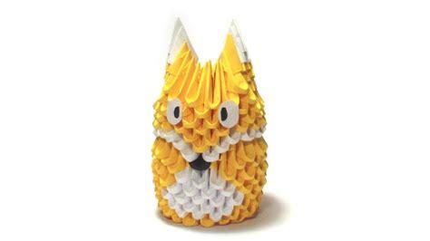 3d Origami Fox - 3d origami fox tutorial