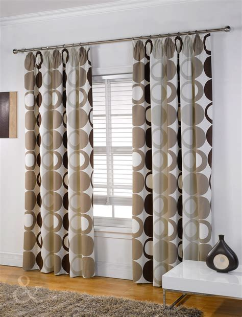 heavy weight curtains modern halo curtains beige brown heavy weight pencil