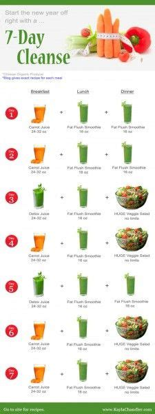 7 Day Diet Fruit Vegetable Detox by 7 Day Cleanse On Gm Diet 7 Day Diet And