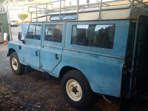 land rover safari for sale 1979 land rover 109 series iii rhd rare safari roof for