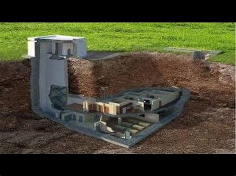 how to build underground house building a underground bunker in our yard youtube