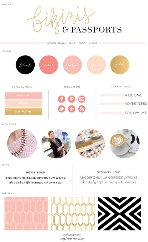 blogs design logo design bikinis passports saffron avenue saffron avenue