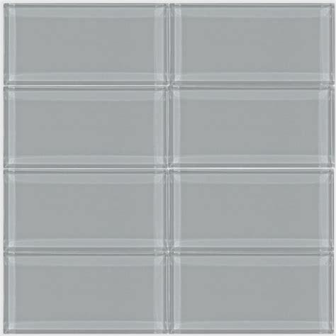 smoke glass subway tile 3x6 for backsplashes showers more smoke gray glass 3x6 inch subway tile