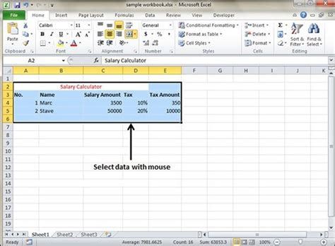 tutorialspoint excel pdf select data in excel 2010