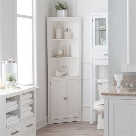tall corner bathroom linen cabinet tall corner bathroom cabinet www pixshark com images