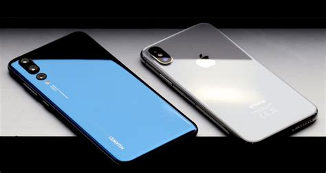 huawei p pro  iphone  nos  face  face uptech