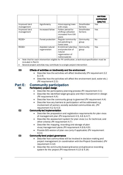 project design document template for plan vivo projects