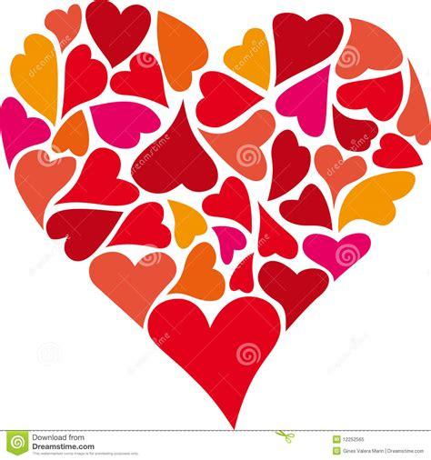 des colores coraz 243 n de corazones foto de archivo libre de regal 237 as