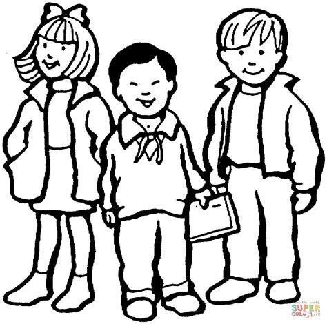 children coloring page free printable coloring pages