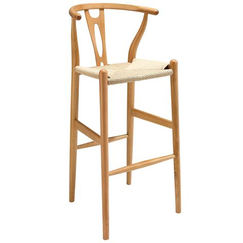 Amish Stool by Amish Wood Bar Stool By Modway Furniture