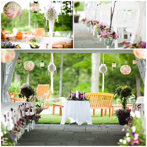 Simple Outdoor Decorations by White Weddings Celebrations Events Daytime To