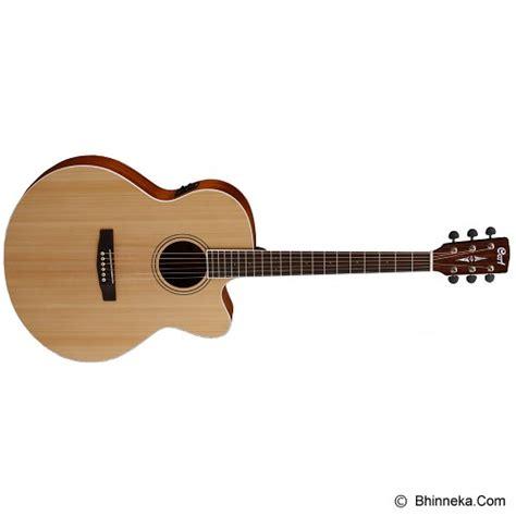 Gitar Akustik Elektrik Klasik Siprus 6 jual cort gitar akustik elektrik cj1f satin