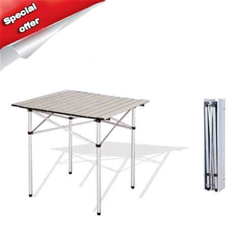 selling outdoor aluminium alloy folding table picnic