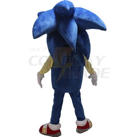 Sonic Blue Spandex blue sonic the hedgehog mascot costume cosplaymade ca