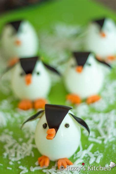 egg penguins  cutest appetizer