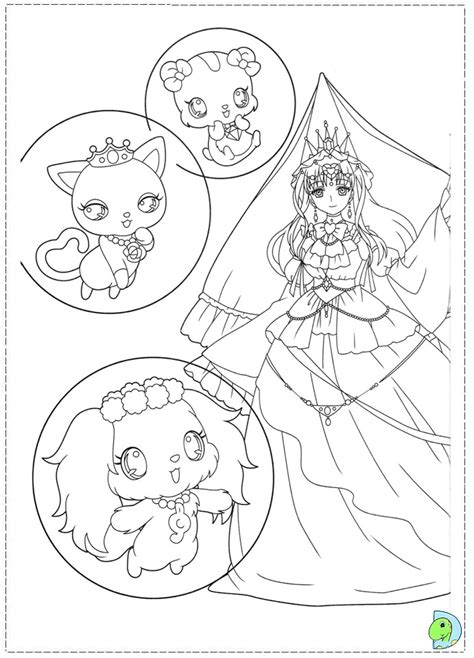 jewel pet tinkle free coloring pages
