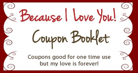 Design Your Own Coupon Book Create Your Own Valentines Coupon Booklet For Free Pictures