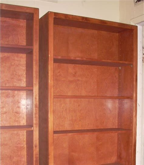7 Ft Bookcases Uhuru Furniture Collectibles Two 7 Ft Solid Wood