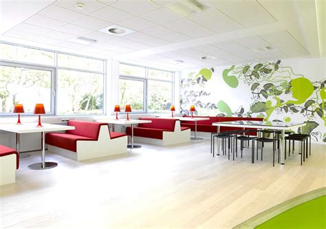 Cafeteria Kitchen Design by Corporate Office Design For Quality Of Work Made My