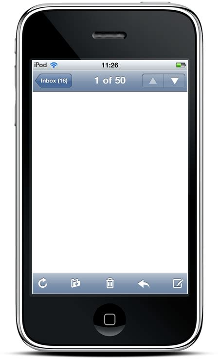 image gallery iphone text screen template