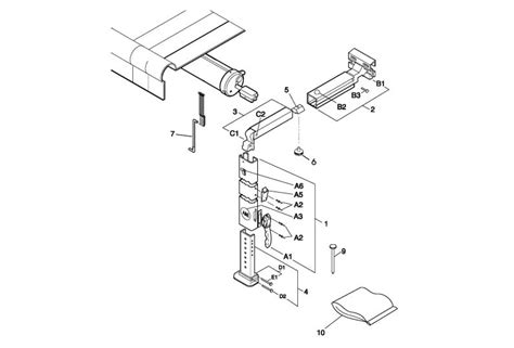 Rv Awning Parts Diagram by Rv Awnings And Awning Parts