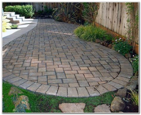 patio paver stones patio paver ideas patios home design ideas
