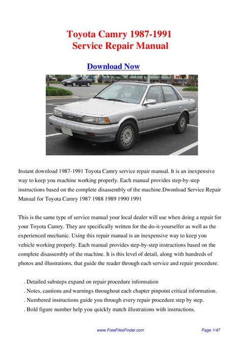 service repair manual free download 1997 toyota t100 xtra user handbook toyota camry 1987 1991 service repair manual by hong lii issuu