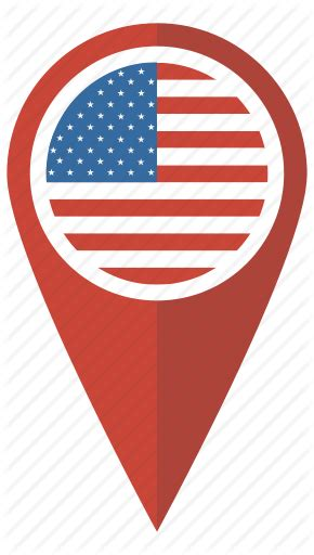 america map icon america flag map pin pointer us usa icon icon
