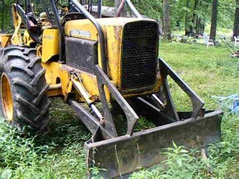 John deere 440b log skider this is a video of my log skidder that is