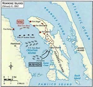 the battle of roanoke island american civil war fort