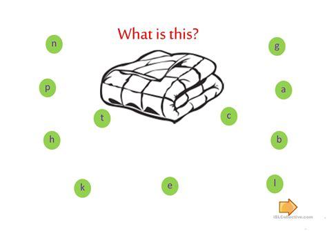 spelling bedroom spelling things in the bedroom worksheet free esl