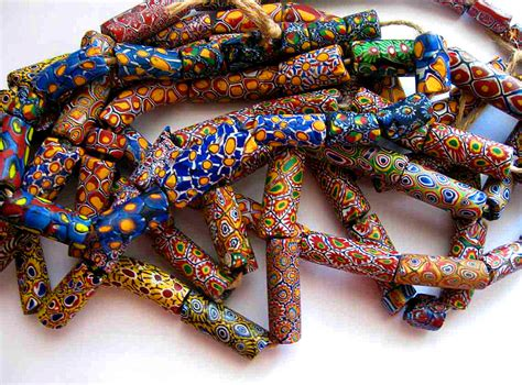 venetian trade millifiori what you are wearing moroccan bling