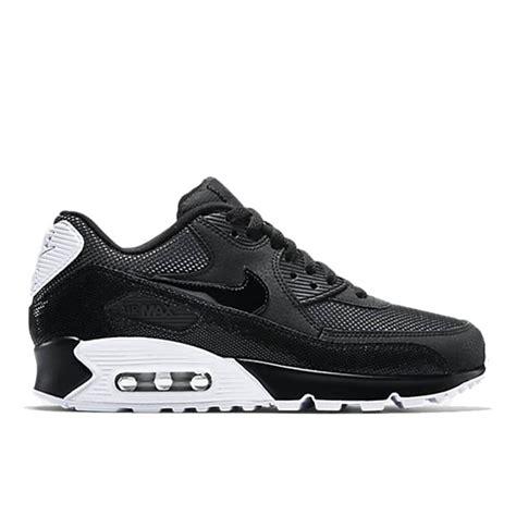 Nike Airmax9 0 Premium nike air max 90 premium womens black white silver
