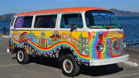 design love fest san francisco hippie volkswagen bus city tour san francisco expedia