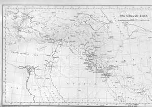 mid east map 1900 map of the middle east 1900