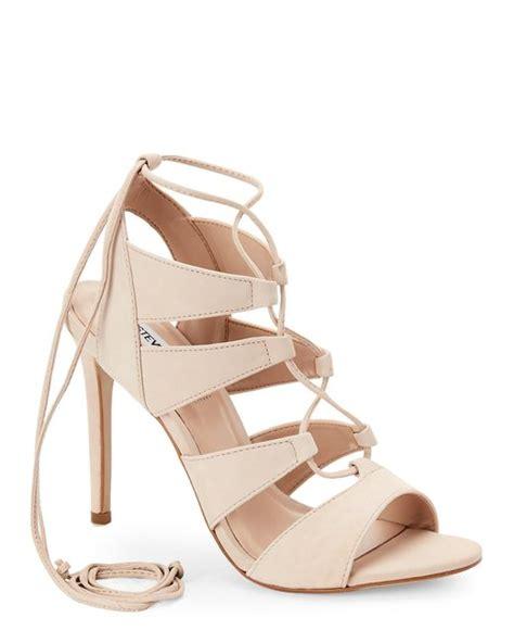 steve madden lace up sandals steve madden blush sandalia ghillie lace up high heel