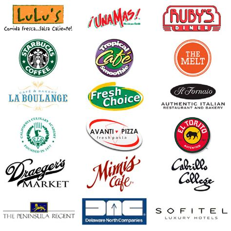 8 best images of restaurant logos and names games restaurant dietitian your nutritional expert for the
