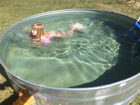 stock tank pool how to make a stock tank pool embracing motherhood