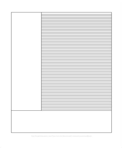 free printable editable lined paper 22 lined paper templates free premium templates