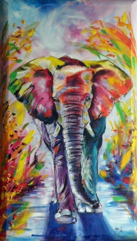 watercolor elephant tutorial 70 easy acrylic painting ideas for beginners to try