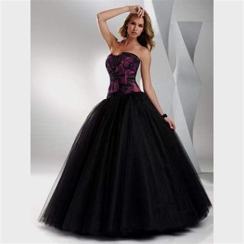 Purple Wedding Dresses Uk by Black And Purple Wedding Dresses Uk Junoir Bridesmaid