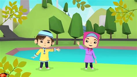 wallpaper anak mengaji kartun anak muslim lucu kolek gambar